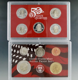 2003 Silver Proof Set in Original Box with COA
