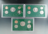 1994, 1995 and 1996 Proof Sets in Original Boxes