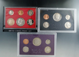 1982, 1983 and 1984 Proof Sets in Original Boxes