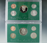 1997 and 1998 Proof Sets in Original Boxes