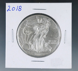 2018 Uncirculated American Silver Eagle