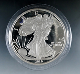 Silver Eagle Design 5 Troy Ounce Silver Proof