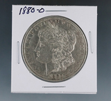 1880-O Morgan Silver Dollar XF Details Cleaned