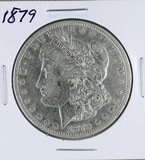 1879 Morgan Silver Dollar F Details Cleaned