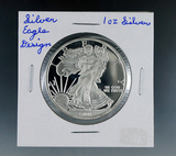 SMI Silver Eagle Design 1 Troy Ounce Silver Proof