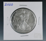 2020 Uncirculated American Silver Eagle