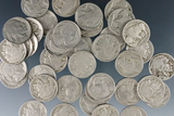 40 Buffalo Nickels 1916-1937 G-F Dates Are Weak on Some