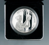 2011 Proof US Mint September 11th National Medal 1 Troy Ounce Silver in Original Box with COA