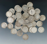 50 Assorted Roosevelt Silver Dimes G-AU