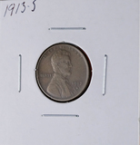 1913-S Lincoln Wheat Cent Better Date VF