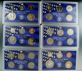 2000, 2002 and 2003 Proof Sets in Original Boxes