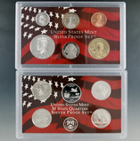 2004 Silver Proof Set in Original Box with COA