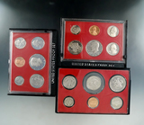 1979, 1980 and 1981 Proof Sets in Original Boxes