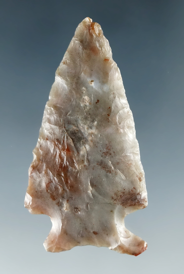 "1 3/4"" Cornernotch made from Agate, found near the Columbia River."