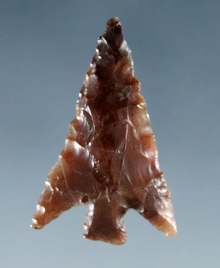 "7/8"" Columbia Plateau made from translucent Agate, found near the Columbia River."