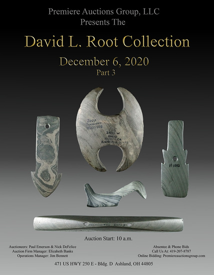 Indian Artifacts Auction - Dave Root Sale #3