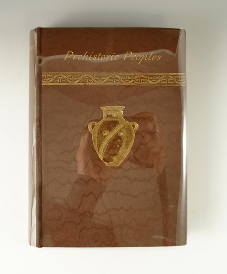 """Hardcover Book: """"Manners and Monuments of Prehistoric Peoples"""" Marquis De Nadaillac.  1892."""