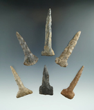Set of six drills found in New York, largest is 3
