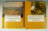 Two-volume softcover book set: Archaeological Investigations in the Upper Susquehanna Valley