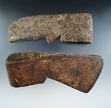 Pair of Iron Trade Axes found in New York. Largest is 6