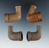 Set of four clay Trade Pipes in very nice condition.