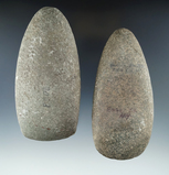 Pair of stone Celts in very nice condition, both are around 4 3/4