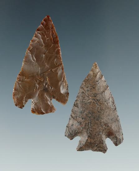 "Pair of nice Quilomene Bars found near Vantage, Washington. Largest is 1 7/16""."