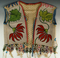 Anishinaabe Beaded Vest from the eary 1900's. Some wear and missing beads at shoulder areas.