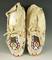 Pair of nicely beaded contemporary Moccasins.