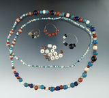 Several nice groups of trade Beads including a 33