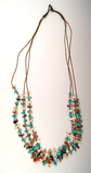 Multiple strand Zuni Necklace with many miniature fetishes.