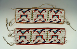 Pair of beaded Armbands in good condition.