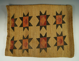 Kimo Bag made of dyed dried cornhusks in excellent condition. Nez Perce. Measures 16