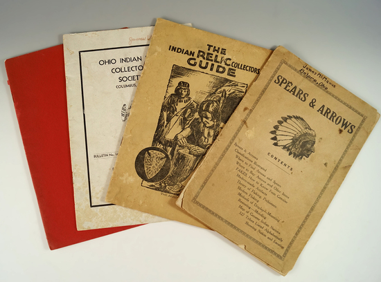 Set of 4 Ohio Collector Guides.