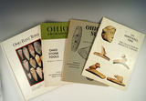Set of 4 Ohio Reference Guides including Ohio Flint Types by Converse.
