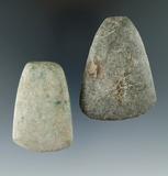 2 Miniature Stone Tools; 2 1/2