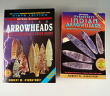 Pair of Books: Overstreet Indian Arrowheads Identification and Price Guide Volumes 7 & 9.