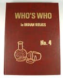Hardback Book: Who's Who #4, first edition.