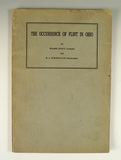 Book: The Occurrence of Flint in Ohio, 1945.