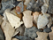 Group of 40 field found Ohio arrowheads, largest is 1 5/8