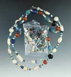 Nice assemblage of beads from the early 1700s - 1814 found in Elmore Co., Alabama.