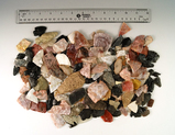 Large group of assorted damaged arrowheads and knives all found in Utah. Some beautiful materials