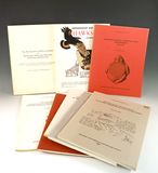 Set of 8 publications in excellent condition on sites in the Mississippi Valley. See photos for more