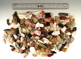 Large group of assorted damaged arrowheads and knives - Utah. Some beautiful materials included