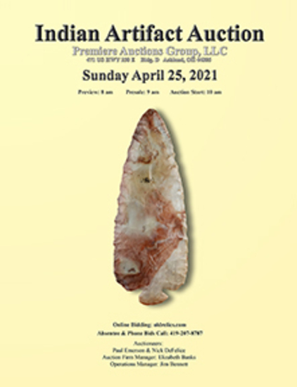Indian Artifacts - Bennett's Premiere Auctions