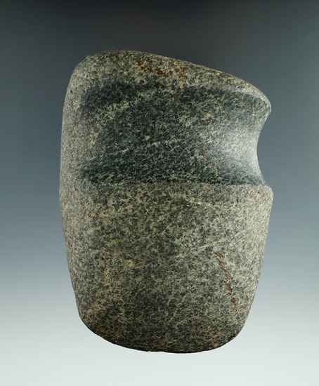 """3 5/8"""" Well-defined 3/4"""" Grooved Axe found in Ohio."""
