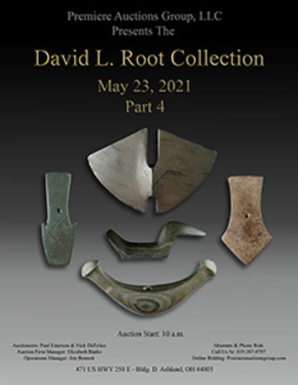 David L Root Indian Artifact Auction - Sale #4