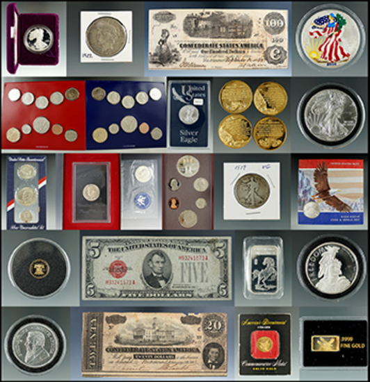 Coin & Currency Auction - Premiere Auctions Group