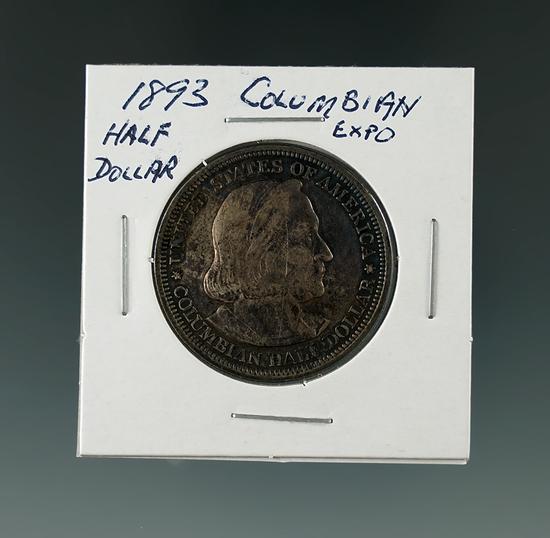 1893 Columbian Expo Half Dollar.