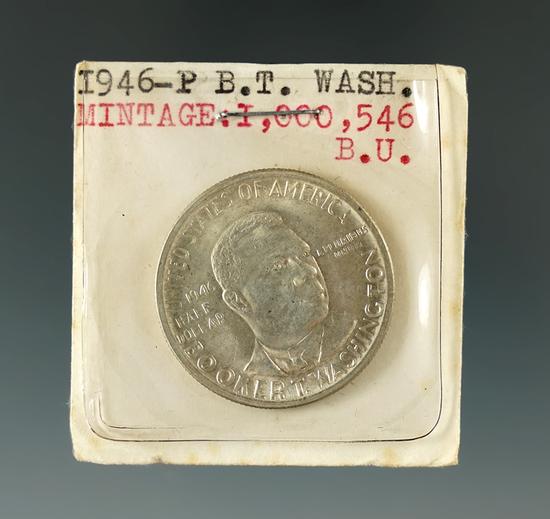 1946 B.T. Washington Half Dollar.